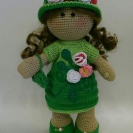 Васелинка-интерьерная кукла