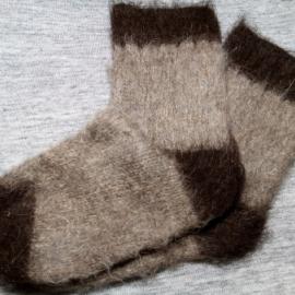 Мужские носки для рыбалки и охоты из шерсти.