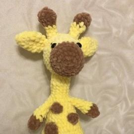 Игрушка ручной работы Жираф