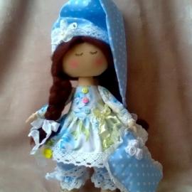 "Текстильная кукла ""Сонечка"""