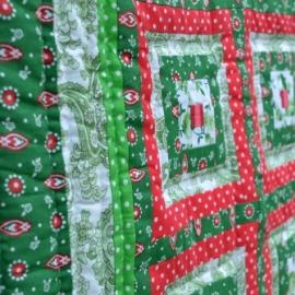 """Лоскутное одеяло""""Травы луговые"""", 125х150см"""