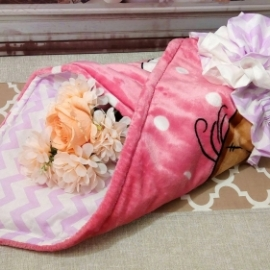 Конверт - одеялко для малышки