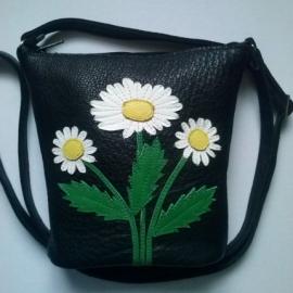 сумка-ромашки