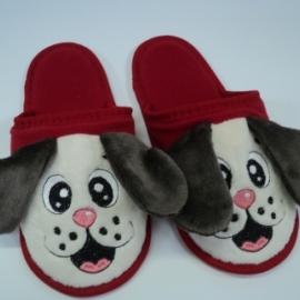 Тапочки с вышивкой детские