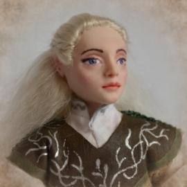 авторская кукла эльф