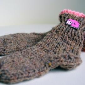 Детские носочки шерстяные