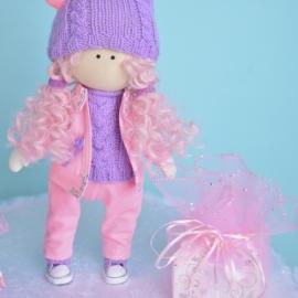 Авторская интерьерная кукла Милена