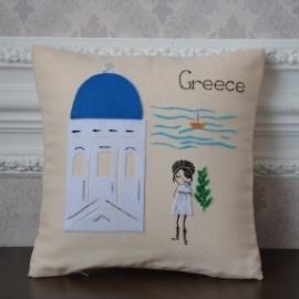 """Подушка """"Греция"""""""