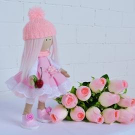 Авторская интерьерная кукла Вишенка