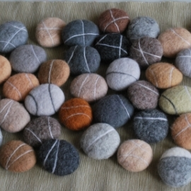 Шерстяные морские камни