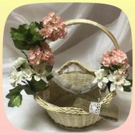 Цветочная корзиночка