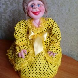кукла на чайник.капрон.сентипон.