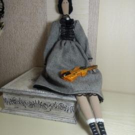 кукла Скрипачка