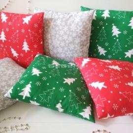Новогодние декоративные подушки