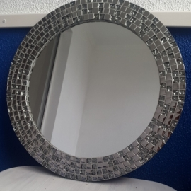 Интерьерное зеркало ручной работы