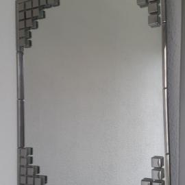 """Интерьерной зеркало """"Классика в серебре"""""""