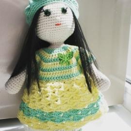 Куколка во французском стиле