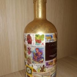 Декорированная бутылка
