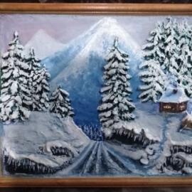 """""""Сказачная зима"""", солёное тесто."""
