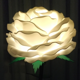 Роза ночник из изолона