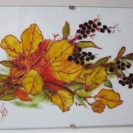 """Оригинальная открытка """"Осенний букет"""""""