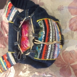 Рюкзак в стиле бохо