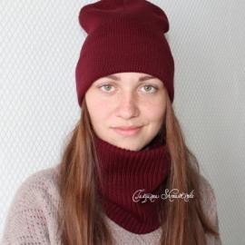 """Комплект """"Шапка+снуд"""""""