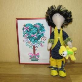 Интерьерная Куколка Инна!