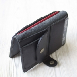 """Мужское кожаное портмоне, для паспорта, банкнот и карт """"Ночной вояж"""""""