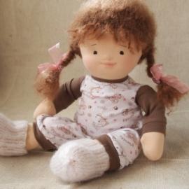 Куколка по вальдорфским мотивам 39см