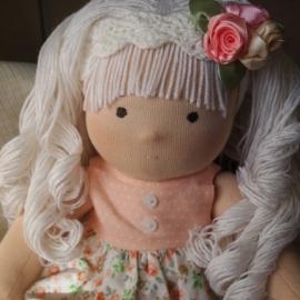Куколка по вальдорфским мотивам 36 см