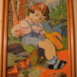 Мальчик с ёжиком