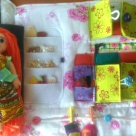 Кукольный домик сумочка