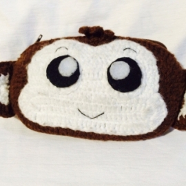 Пенал обезьянка