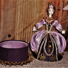 "кукла-шкатулка ""восточная принцесса"""