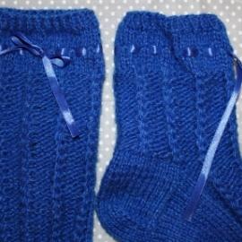 Носки вязанные женские ручная работа