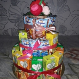 Тортик для детей в детский сад