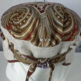 """Женская шляпка в стиле """"а-ля сорока"""""""
