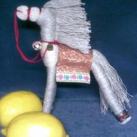 """Кукла """"Солнечный конь"""""""