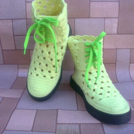"Ботинки ""Лимончелло"""