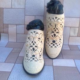 "Летние ботинки "" Ажур"""