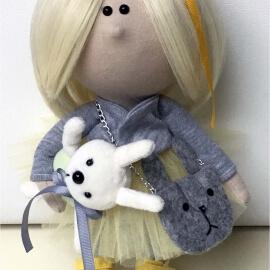 Интерьерная кукла Стеша