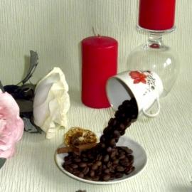 """Кофейная парящая чашка"""" С Добрым утром"""""""
