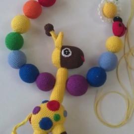 Слингобусы для мамы и малыша -Жирафик Паша