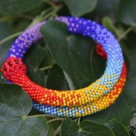 Радужный браслет-трансформер