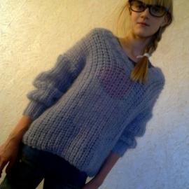 Пуловер Пушистое облако