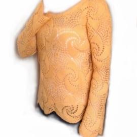 Блуза женская ажурная.