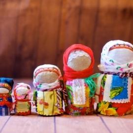 """Народная Славянская кукла - оберег """" Зерновушка"""", или """"Крупеничка"""", """"Богач - мужичок"""""""