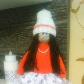 """Интерьерная кукла в стиле """"Тильда"""""""