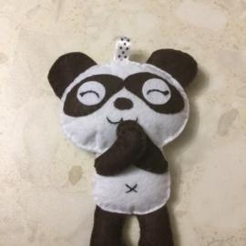 """Брелок для ключей  """"Веселая панда"""""""